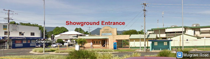 Cairns Showground entrance a