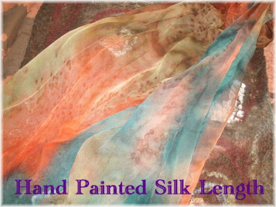 Hand Painted Silk Length